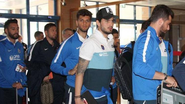 Trabzonspor kafilesi İstanbul'da
