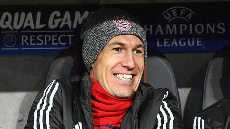 Arjen Robben'den transfer açıklaması: Çin veya Amerika'ya gitmek bir adım geriye gitmektir