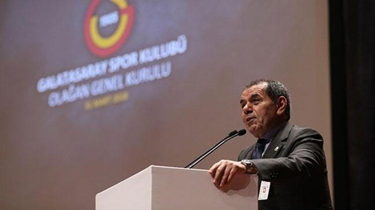 Dursun Özbek mali ve idari açıdan ibra edildi