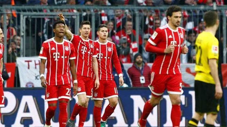 Bayern Münih, B.Dortmund'u darmadağın etti! 6-0