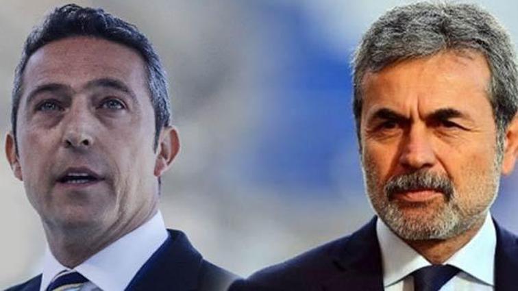 Ali Koç ve Aykut Kocaman'dan karşılıklı jest