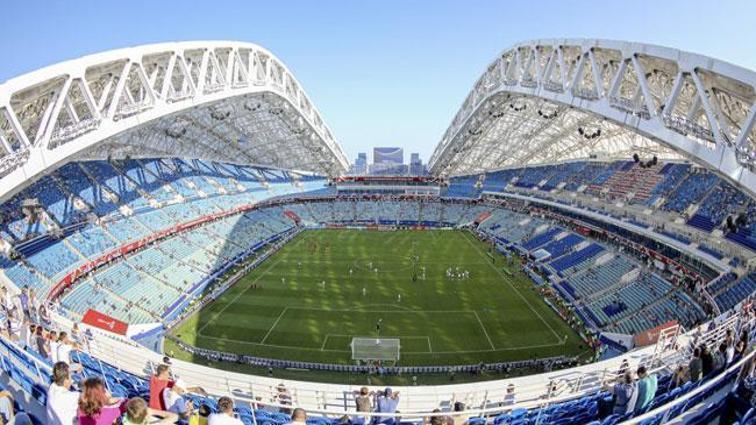 Rusya-Türkiye maçı Rusya'nın Soçi kentinde oynanacak