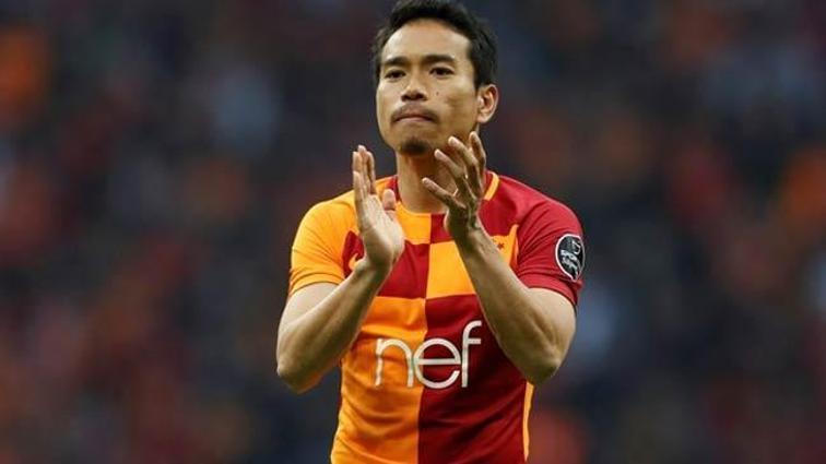 Galatasaray Nagatomo'da mutlu sona ulaştı