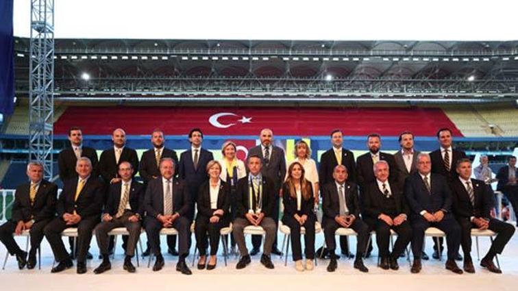 Fenerbahçe yönetiminde görev dağılımı yapıldı!