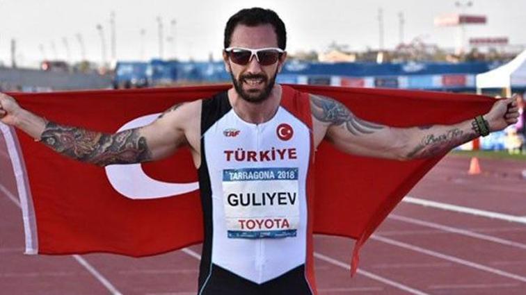 18. Akdeniz Oyunları'nda Ramil Guliyev, 200 metre finalinde rekor kırarak altın madalyaya ulaştı