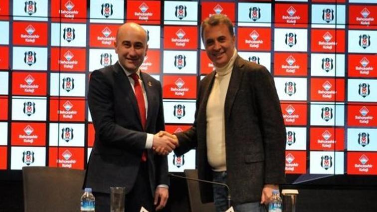 Beşiktaş'a yeni sponsor! İmzalar atıldı