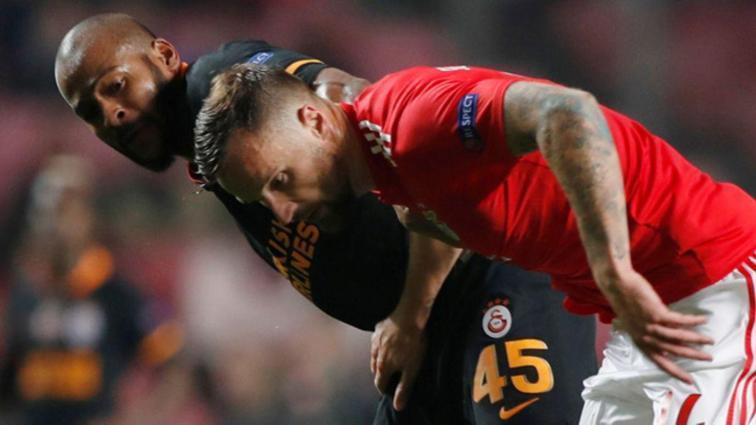 Galatasaray'ın çiçeği burnunda stoperi Marcao, Benfica maçında da göz doldurdu