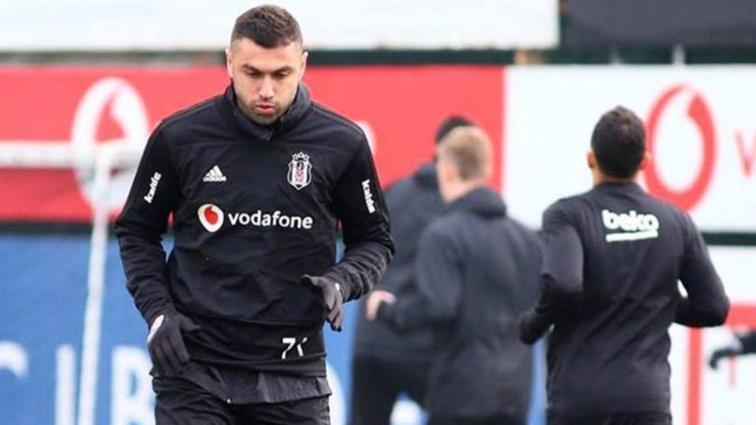 Fenerbahçe derbisinin hazırlıklarını sürdüren Beşiktaş şut çalıştı