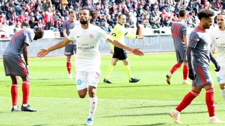 7 hafta sonra gelen 3 puan! Sivasspor: 1 Antalyaspor: 2