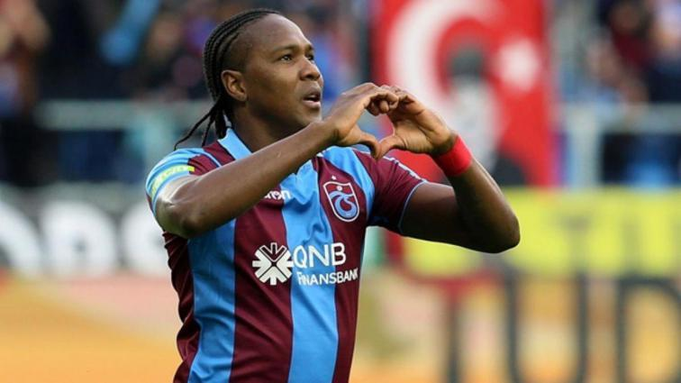 Trabzonspor Hugo Rodallega'nın sözleşmesini uzatıyor