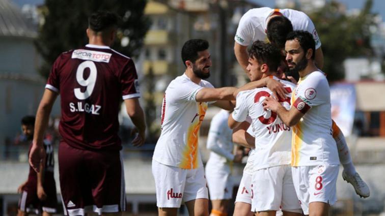 Galatasaray deplasmanda Hatayspor'a 4-2 mağlup olsa da kupada yarı finale yükseldi