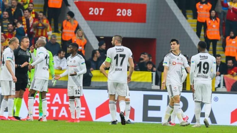 Beşiktaş, Göztepe maçıyla ilgili Tahkim Kurulu'na itiraz edildiğini açıkladı