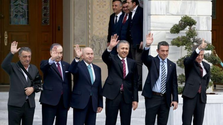 İstanbul Valisi Ali Yerlikaya, başkanları ağırladı