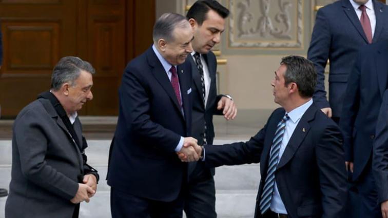 Ali Koç ile Mustafa Cengiz arasında tarihi zirveye damga vuran diyalog!