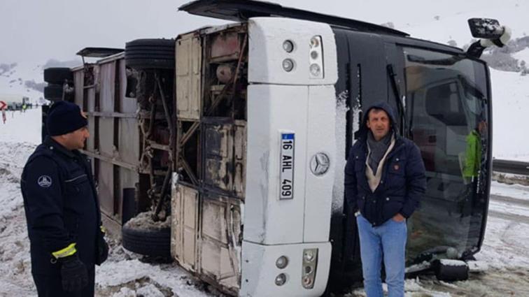 TFF ve kulüplerden otobüs kazası için Bursaspor'a geçmiş olsun mesajı