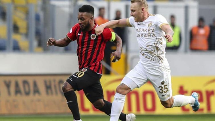 Gençlerbirliği, Başkent derbisinde Ankaragücü'nü tek golle mağlup etti