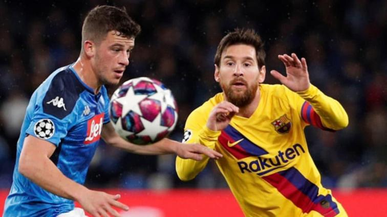İlk yarı Napoli, ikinci yarı Barcelona