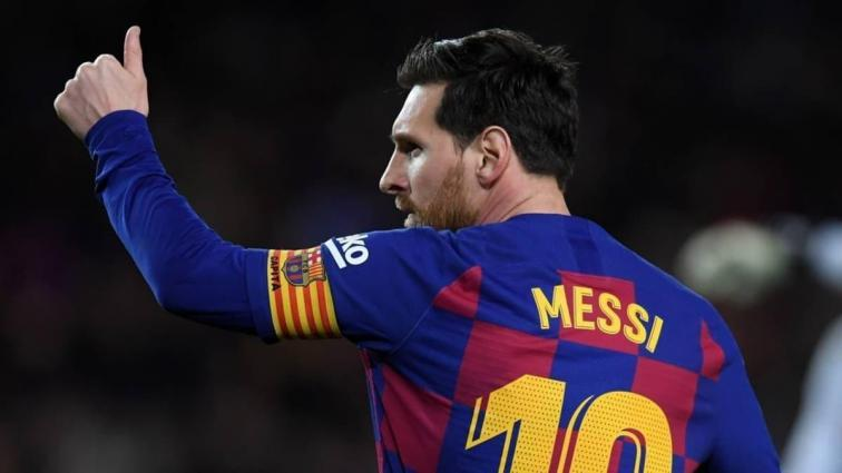 Messi'den jet hızıyla iniş