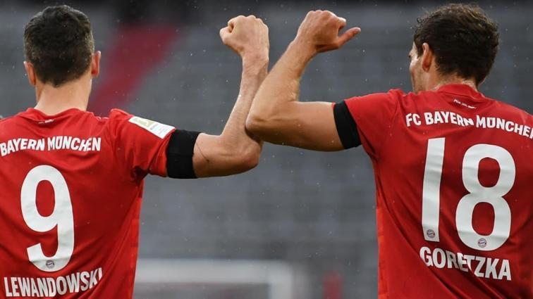 Bayer Münih evinde Eintracht Frankfurt'u 5-2 mağlup etti