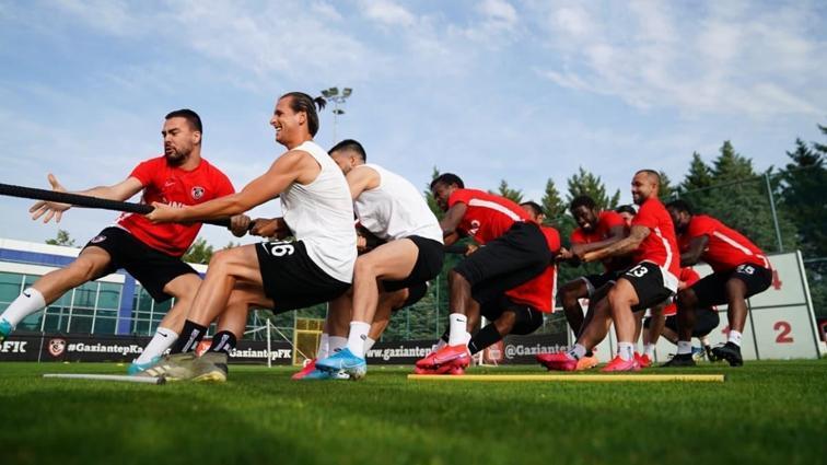 Gaziantep FK hazırlıklarını yoğun tempoda sürdürüyor