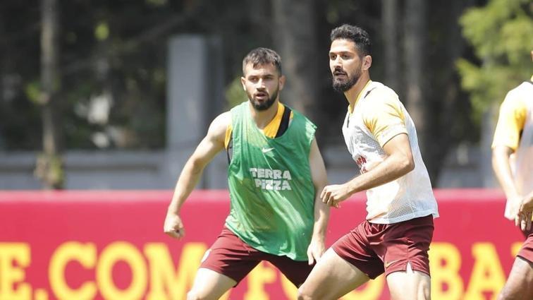 Galatasaray kuvvet ve pas çalıştı