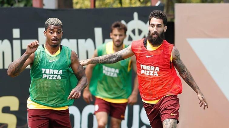 Galatasaray'da Başakşehir maçının hazırlıkları sürüyor