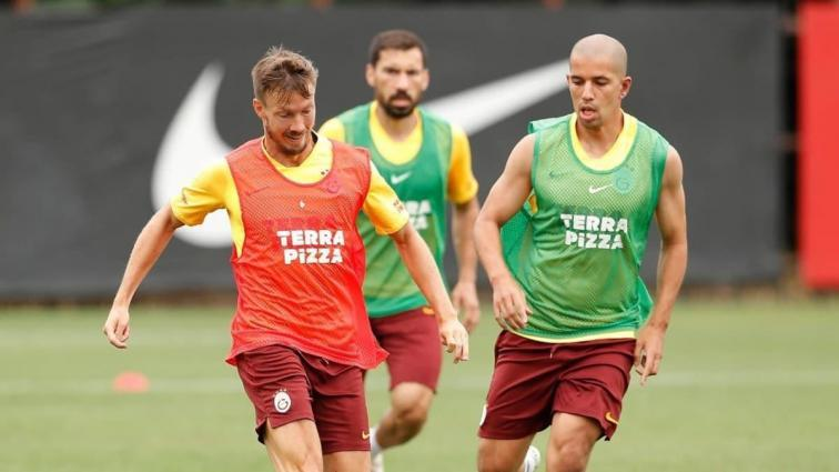 Galatasaray'da Göztepe maçının hazırlıkları sürüyor