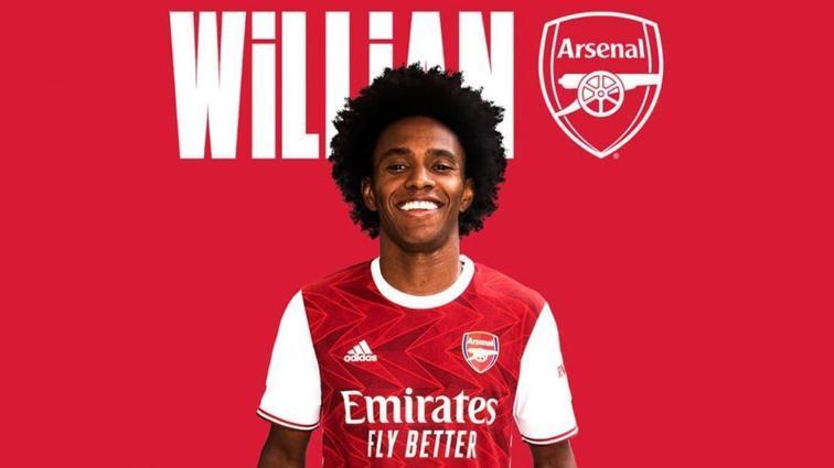 Chelsea'den ayrılan Willian'ın yeni durağı Arsenal