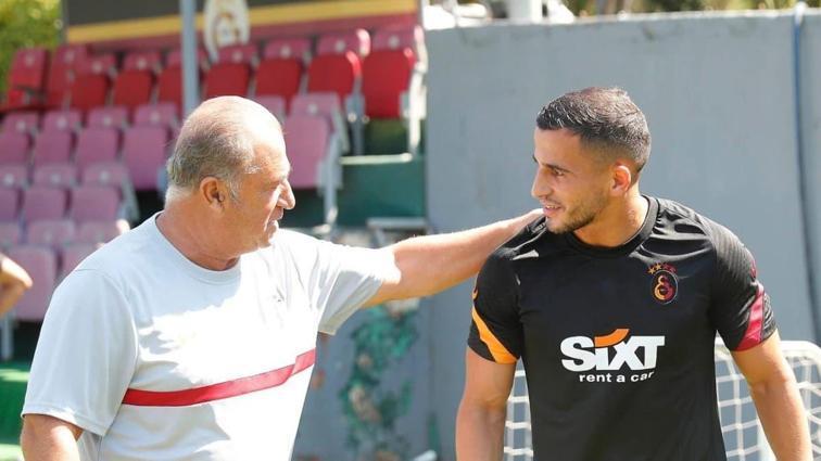 Galatasaray'da Omar Elabdellaoui ilk antrenmanına çıktı