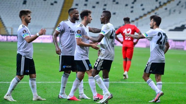 Beşiktaş, özel turnuvada üçüncü oldu