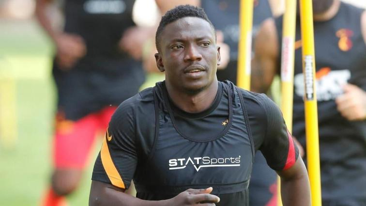 Galatasaray'ın yeni transferi Oghenekaro Etebo, ilk idmanına çıktı