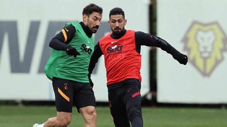 Galatasaray pas ve dayanıklılık çalışması yaptı