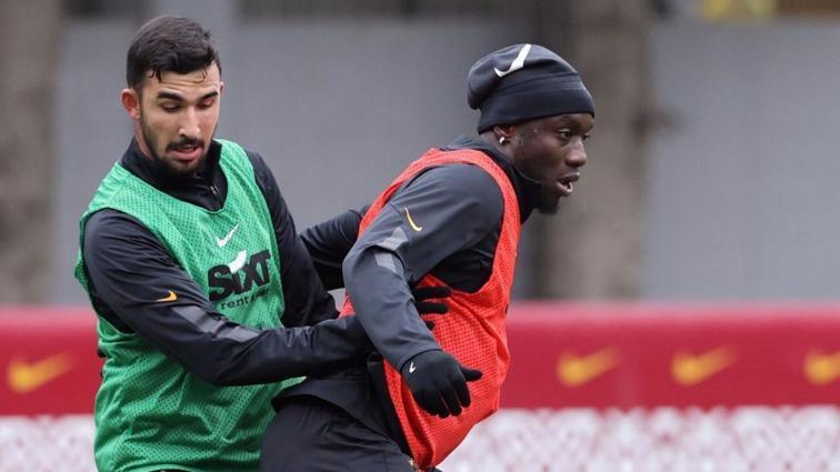 Galatasaray'da Muslera, Falcao ve Saracchi özel program dahilinde çalıştı