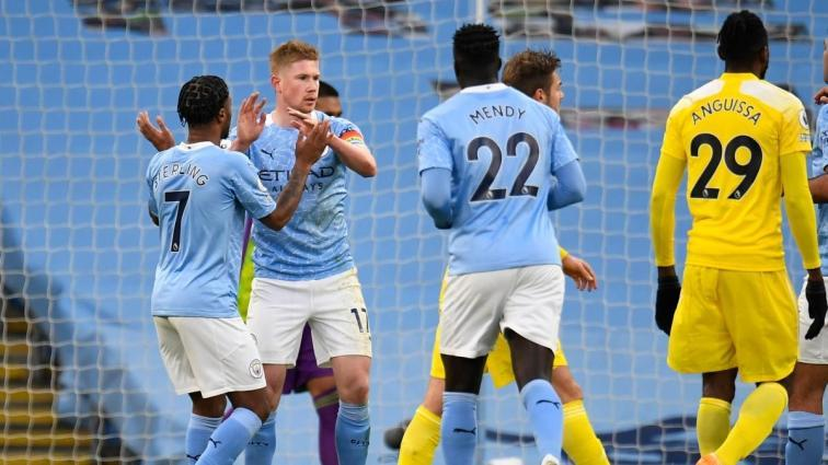 City, Fulham'ı 2 golle geçti