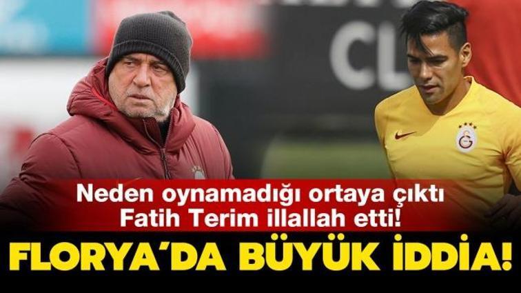 Son dakika haberi... Galatasaray'da Radamel Falcao gerçekleri! Neden oynamadığı ortaya çıktı