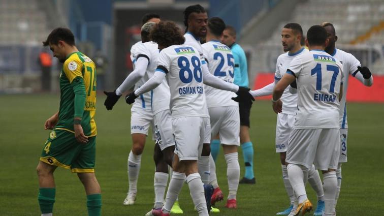 BB. Erzurumspor kupada konuk ettiği Esenler Erokspor'u 5-1 yenerek turladı