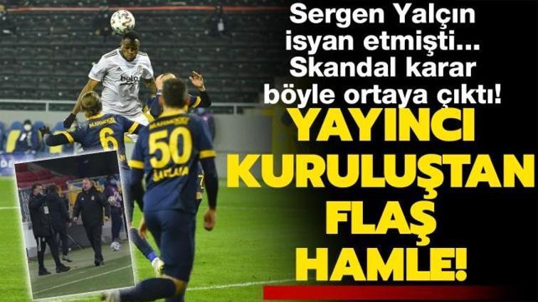 Son dakika haberi: Sergen Yalçın isyan etmişti... Ankaragücü-Beşiktaş maçında yayıncı kuruluştan flaş hamle