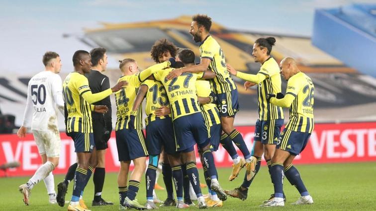 Fenerbahçe'den net galibiyet: 3-1