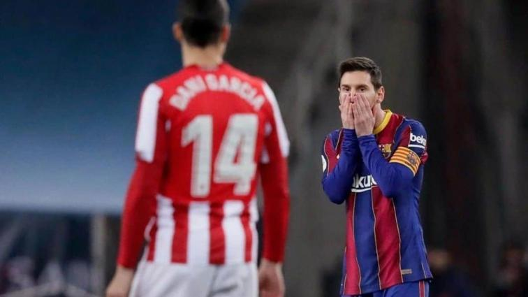 Messi kırmızı kart gördü, Athletic Süper Kupa'nın sahibi oldu
