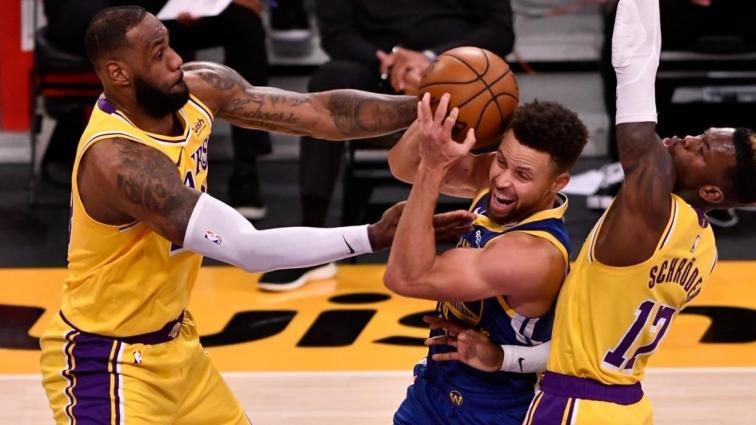 Los Angeles Lakers'ın 5 maçlık serisine Golden State Warriors son verdi