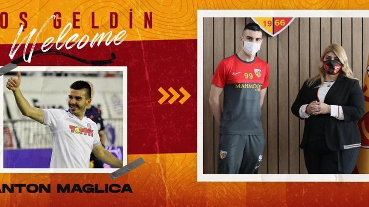 Kayserispor, Anton Maglica ile yarım sezonluk sözleşme imzaladı