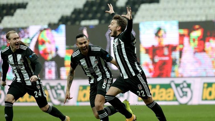 Beşiktaş'a yan bakılmıyor! 2-1