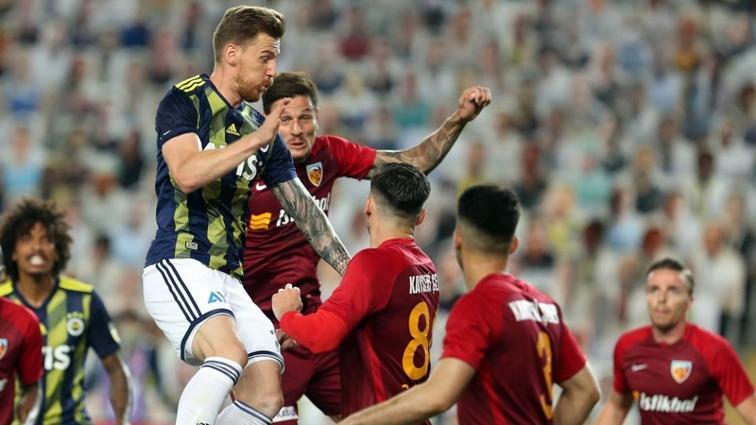 Fenerbahçe Kayserispor'a karşı son maçlarda zorlanıyor