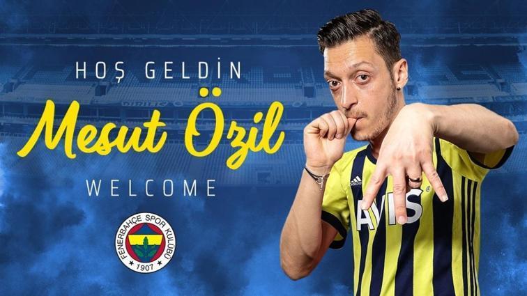 Fenerbahçe transfer haberi: Mesut Özil ile 3,5 yıllık sözleşme imzalandı