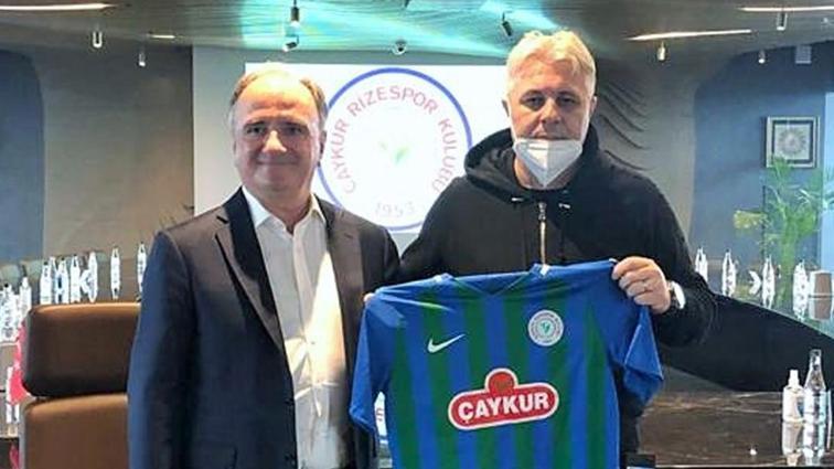 Çaykur Rizespor, teknik direktör Marius Sumudica ile 1,5 yıllık anlaşma sağladı
