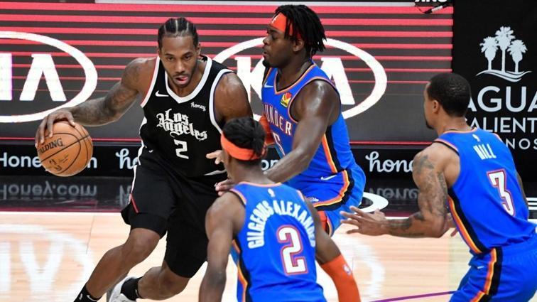 Los Angeles Clippers, Oklahoma City Thunder'ı yenerek seriyi 7 maça çıkardı