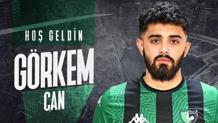 Denizlispor genç stoper Görken Can ile 2,5 yıllık sözleşme imzaladı