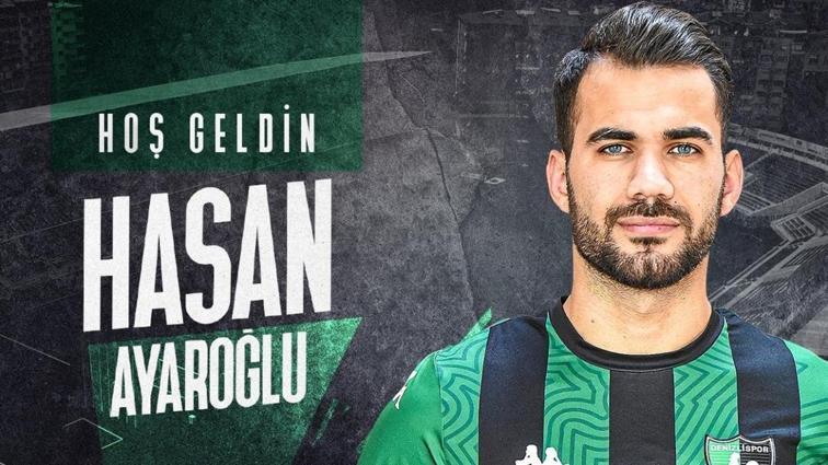 Denizlispor, Hasan Ayaroğlu ile 6 aylık sözleşme imzaladı