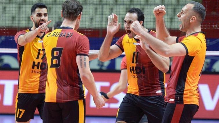 Galatasaray HDI Sigorta, erteleme maçını rahat kazandı