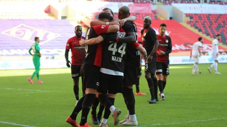 Gaziantep FK'da hedef ilk 5